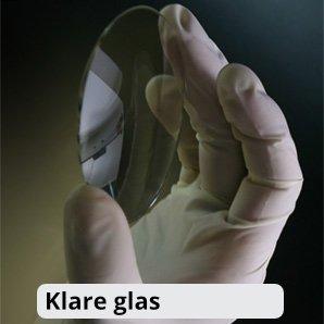 Klare glas med skræddersyet glidende overgang
