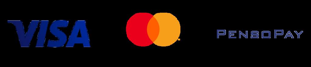 Betalingsmulighed: Visa og Mastercard