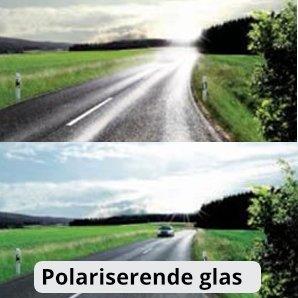 Polariserende glas